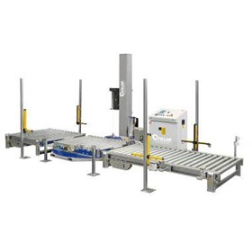 Fully Automatic Stretch Wrapping Machine | CST 915
