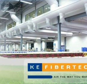 KE Fibertec Fabric Ducting
