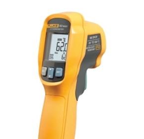 Virtually unbreakable infrared thermometer from ECEFast