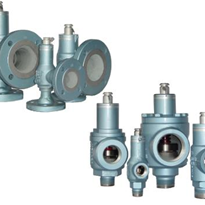 Threaded & Flanged Safety Relief Valves | Mercer 9100 Series
