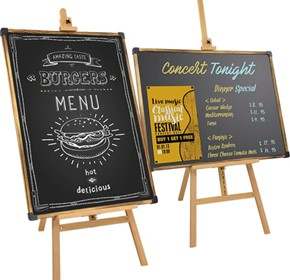 Display Board, Stand & Blackboard