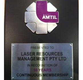 10 years of AMTIL Membership