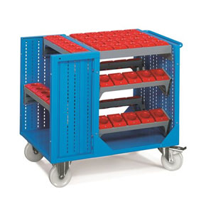 Highest Quality Steel Industrial NC Tool Trolley | FAMI (Italy)