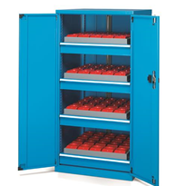 Highest Quality Steel Industrial NC Cabinet with Doors | FAMI (Italy)