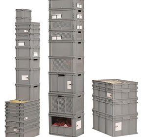 Industrial Stacking & Storage Containers / Boxes | FAMI (Italy)