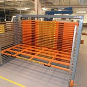 Safe Storage System | ROLL-RACK for sheet metal plates and more