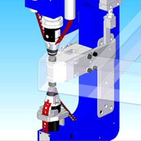 E-Frame Riveting Tool Machine
