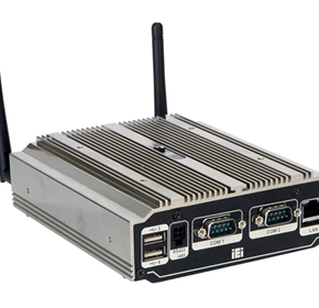 New uIBX-210-CV-N2600 fanless embedded system with dual-core processor