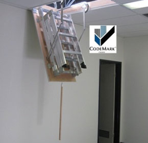 AM-BOSS Pull-down Access Ladder 'Access-Boss' Commercial Series