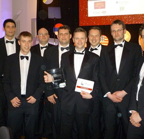 KILNGER scoops UK international trade award