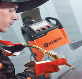 Kemppi's HotSpot function makes dent repairs easy