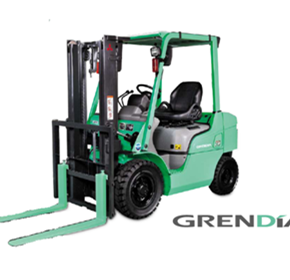 Mitsubishi GRENDiA - The Green Diamond Forklift