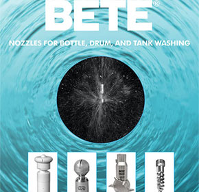 New tank-washing brochure from BETE Fog Nozzle
