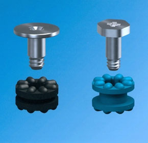Anti-vibration grommets dampen noise too