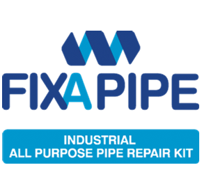 FIXA PIPE - a pipe repair kit rated to 3000psi