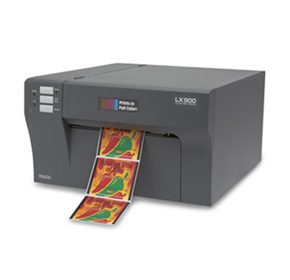 Print full-colour labels fast and on-demand: introducing the LX900