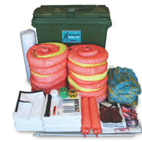 Spill kit - Marine Large Mobile Bin 875L Absorbent Capacity (SKM660)