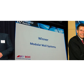 Modular Wall Systems wins Industrial Product of the Year