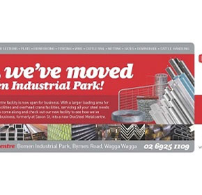OneSteel Metalcentre Wagga and Leeton move to new premises