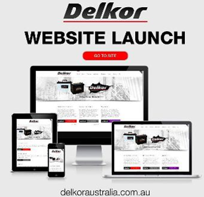 Delkor website launch
