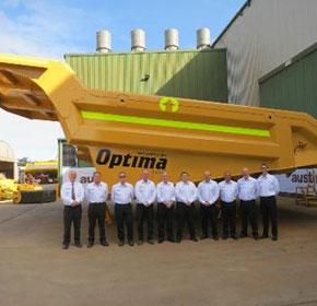 Launch of new optimised dump truck body by Austin Engineering