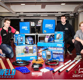 CIGWELD assists students through RMIT Electric Racing scholarships