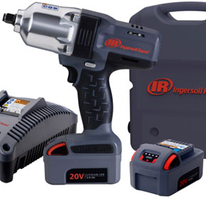 Ingersoll Rand Cordless W7150 impact wrench helps customers grow