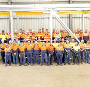 Redispan receives Steel Institute award for Qld project