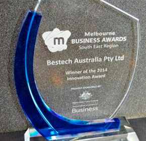 Bestech Australia wins Vic business innovation award