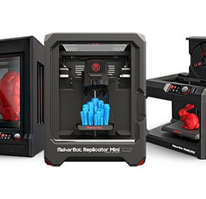 Redstack offers 3D solutions featuring MakerBot® 3D Printers