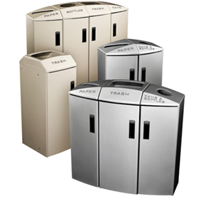 Decorative Indoor Recycling Bins | RCP