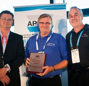 World first Pallet Wrapper wins Industry Excellence Award