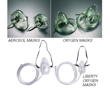 Some of the oxygen masks offerd in the Signet range