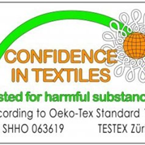 Conni bed and chairpads are Oeko-Tex accredited