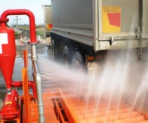 Truck Tyre Washing System