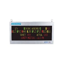 Industrial LED Display Sign Tough Smart Marquee 4L20C Etherne