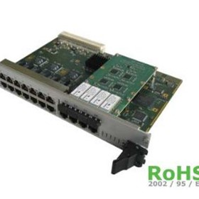 ComEth 10GBit Ethernet Switch for VME or CompactPCI systems