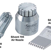Air nozzles cut noise at sheet metal producer