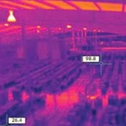 Thermal imaging cameras for warehouse asset protection