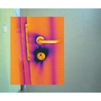 Infrared camera optimises passive housing construction