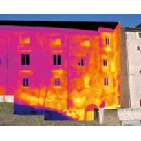 Structural survey post-earthquake aided by IR thermography