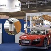 Audi R8 Spyder no match for Robotunits connection technology
