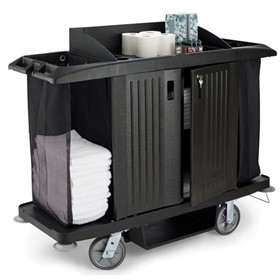 Housekeeping Trolley Hotel Housemaid Maid Carts 6189