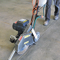 "14"" 240V Walk Behind Saw for Hire 