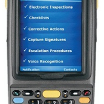 Safety inspections in the mining industry using mobile devices