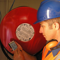 Automation of fire equipment inspections using mobile devices