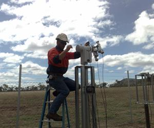 Installation Of The Active Solar Tracker