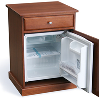 Bedside Cabinet with Built-in Fridge | Unique Care®