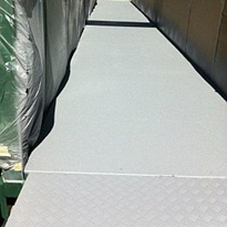 Floor Tuff provides anti slip solution Brisbane waterway ramp