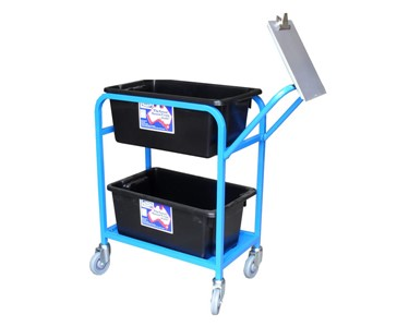 Tente Stock Picking Trolley with Optional Clipboard